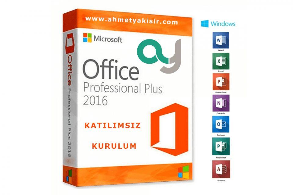 office 2016 960x640 - Office 2016 Full Katılımsız Kurulum